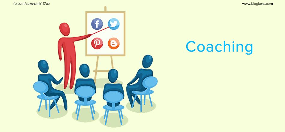 30 Ways to Make Money by Blogging Free WordPress by providing coaching