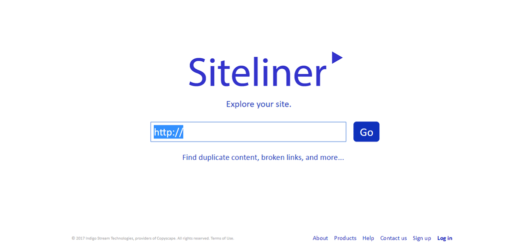 Siteliner Duplicate Content Checker SEO Tool for Website or Blog