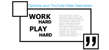 Perfect Description for your YouTube Video
