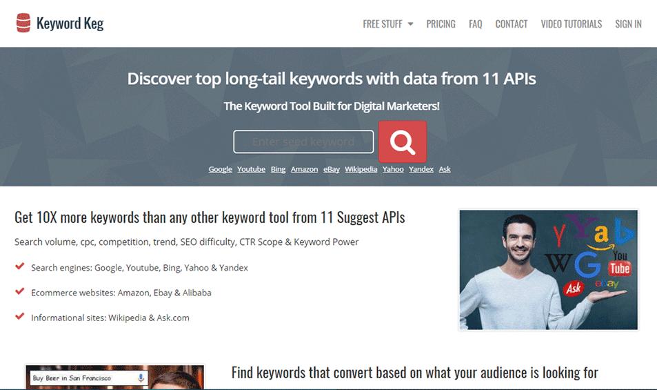 keyword Keg tool